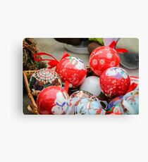 decorations for Christmas Canvas Print