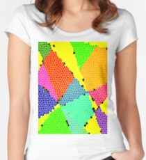 Colour Anyone? Women's Fitted Scoop T-Shirt