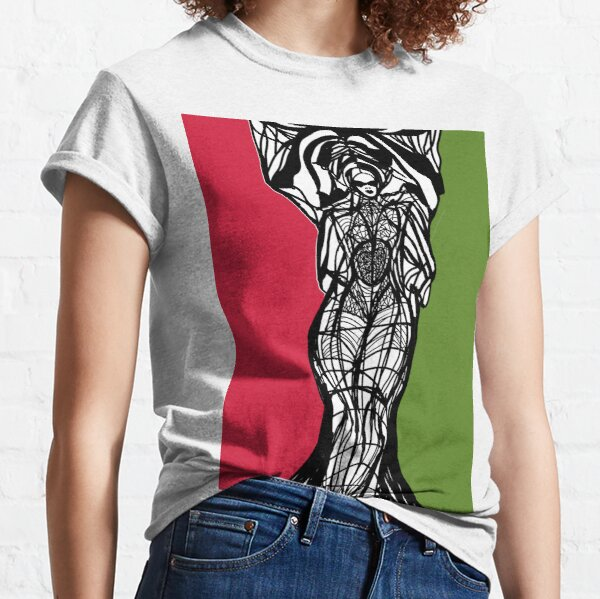 PanAfrican Woman Within  Classic T-Shirt
