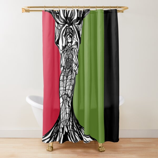 PanAfrican Woman Within  Shower Curtain