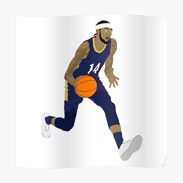 Brandon Ingram New Orleans Basketball Poster