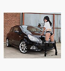 How to make a Corsa look good! Photographic Print