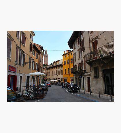 Verona alleyway Photographic Print