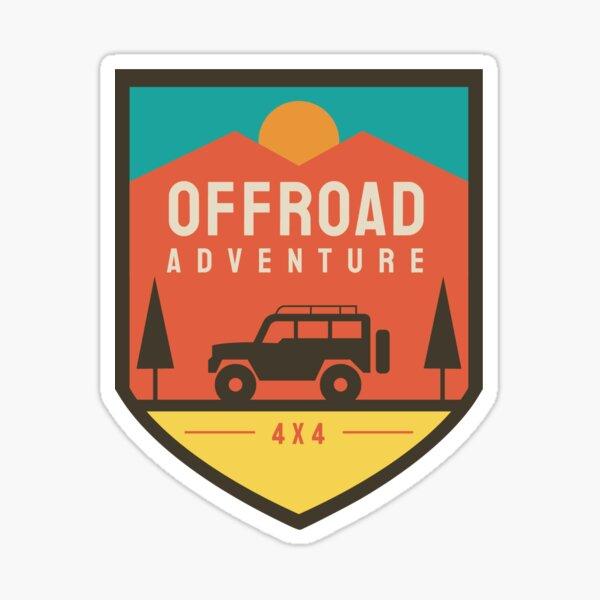Offroad Adventure Sticker