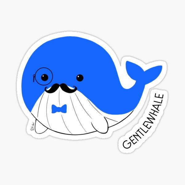Gentlewhale Sticker