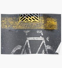 painted bike Poster