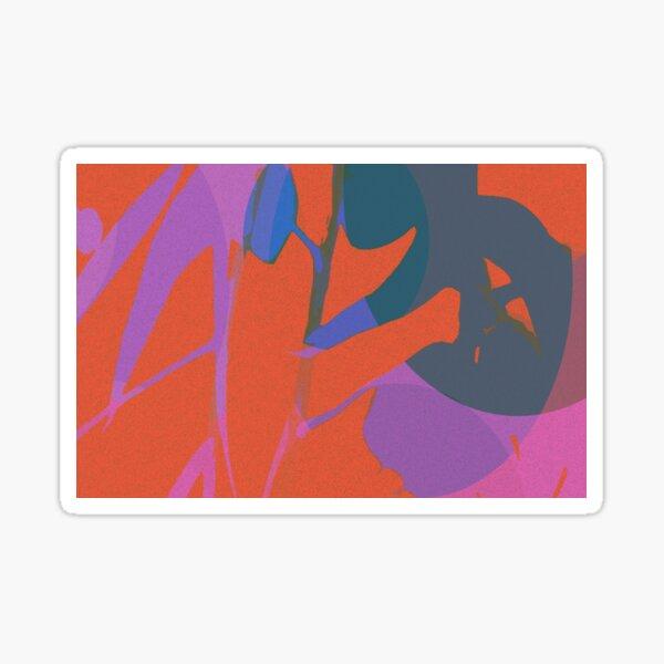 Red Eucalyptus Sticker