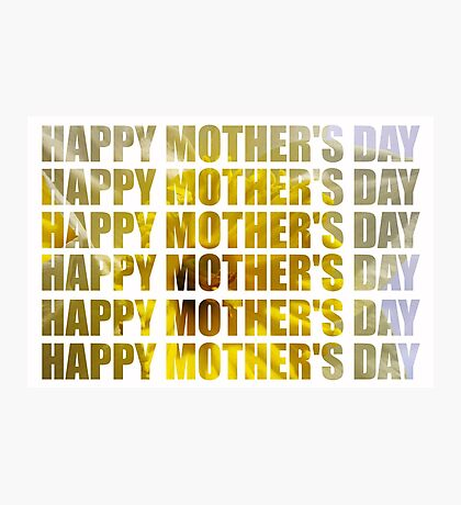 cut daffodil mum's day Photographic Print