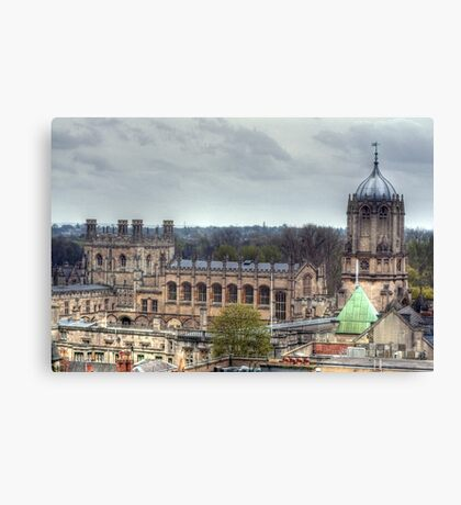 Christ Church Oxford From The Carfax Tower Canvas Print