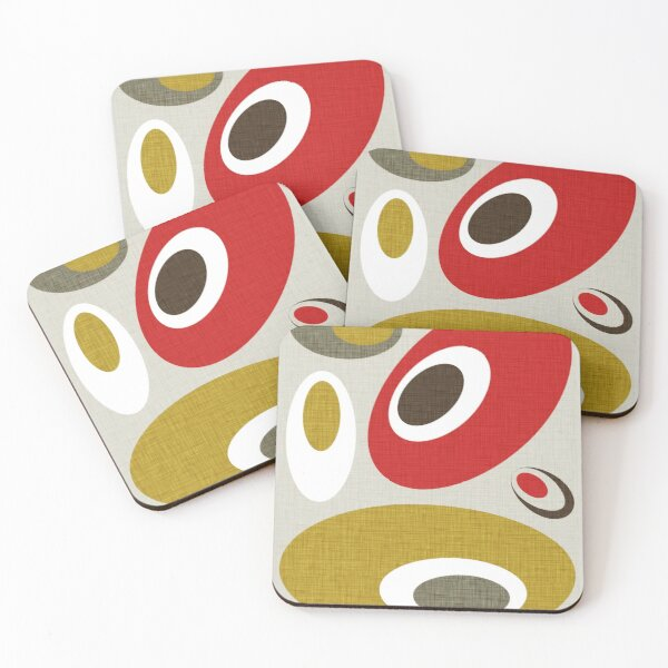 MCM Bitossi Dots Coasters (Set of 4)