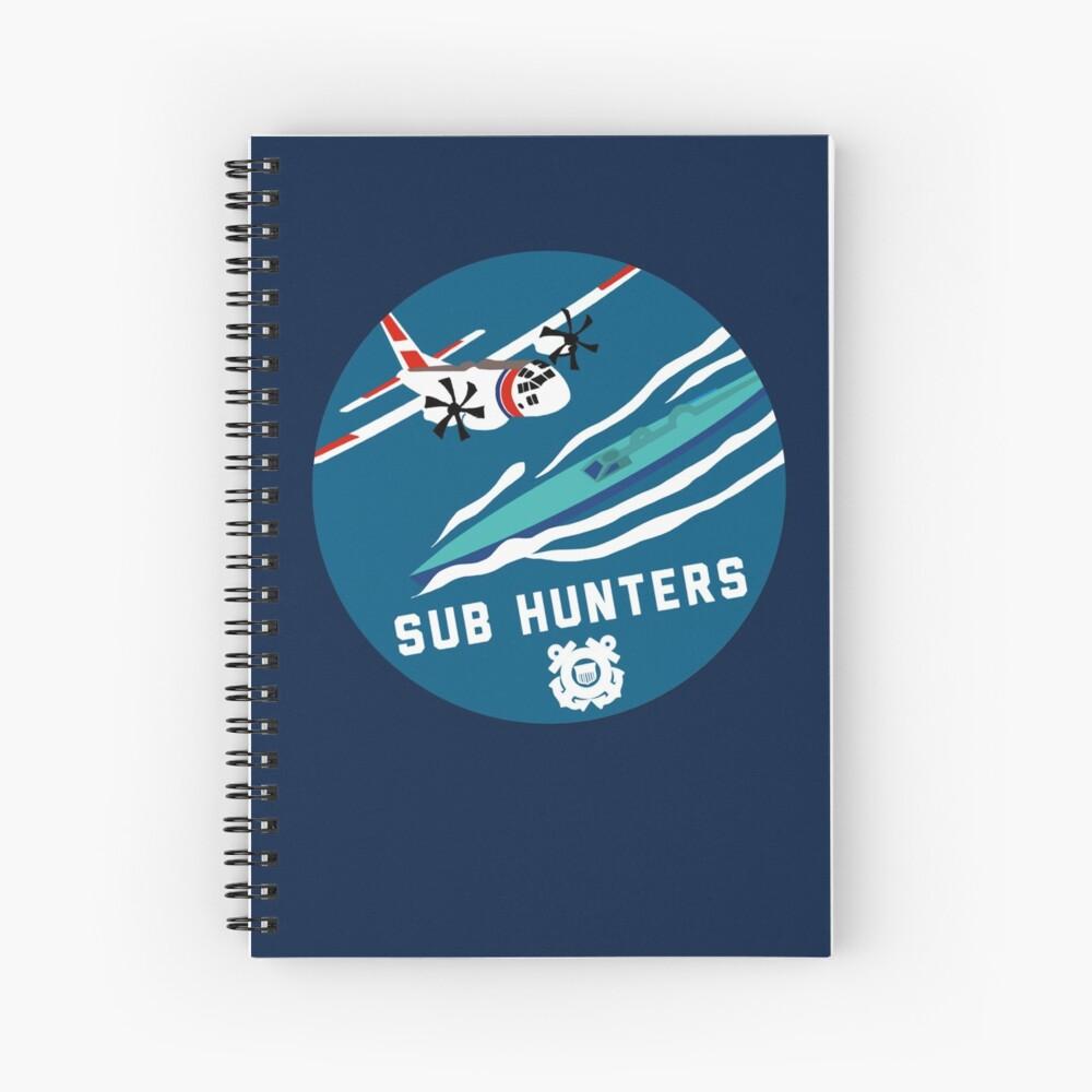 Coast Guard Sub Hunters Spiral Notebook