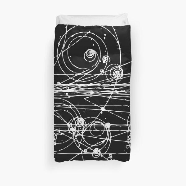 Pistas de partículas (oscuras) Funda nórdica