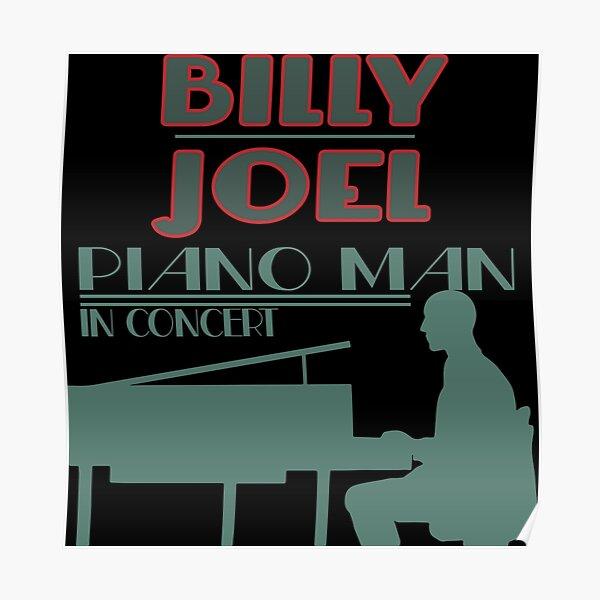 Billy Joel Piano Man Poster