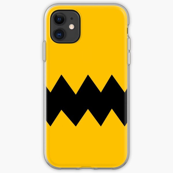 Charlie Brown shirt pattern iPhone Soft Case