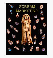 Scream Marketing Photographic Print
