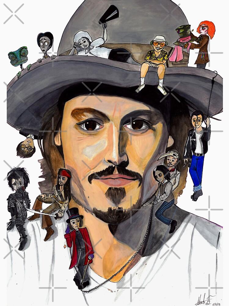 Johnny Depp no back | Unisex T-Shirt
