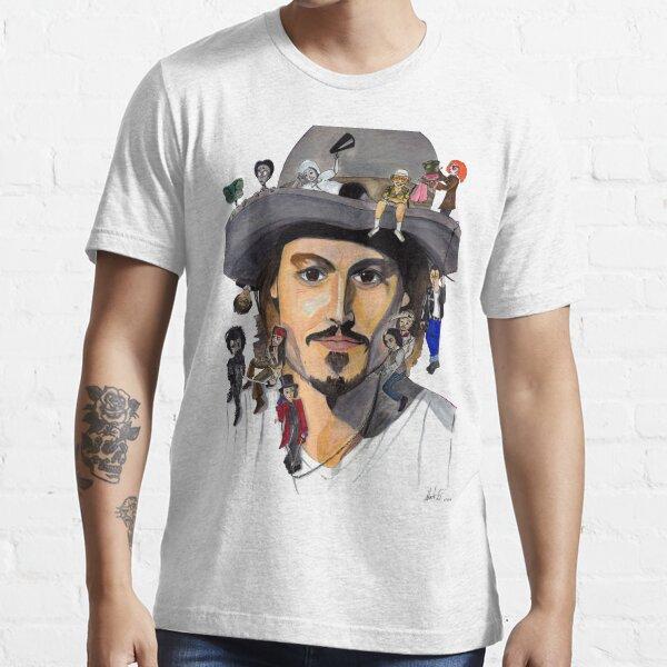 Johnny Depp no back Essential T-Shirt