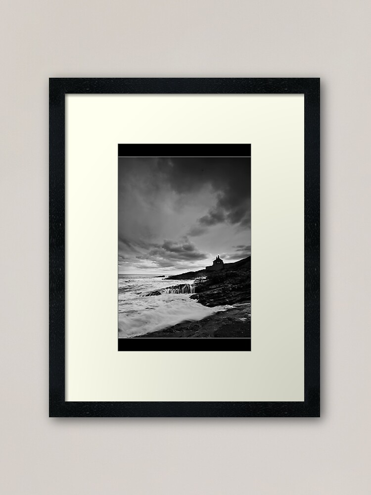 Alternate view of The Bathing House Framed Art Print