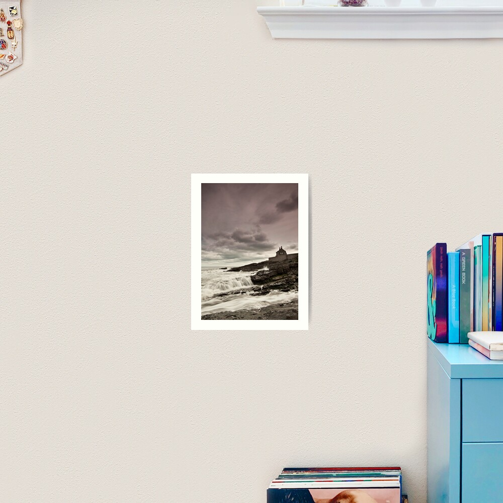The bathing house Art Print