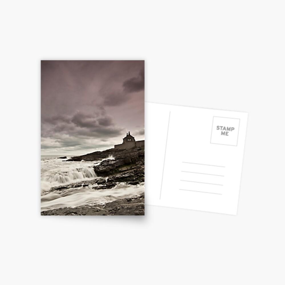 The bathing house Postcard
