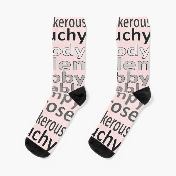 Grouchy words Socks