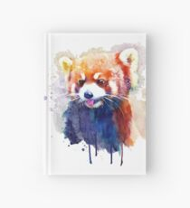 Red Panda Portrait Hardcover Journal