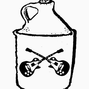 Whisky Bottle (black) by muddyrecords