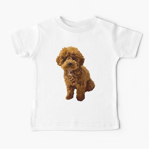 Ginger the Toy Poodle Baby T-Shirt