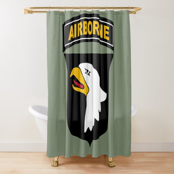 101st Airborne Division (US Army) Shower Curtain