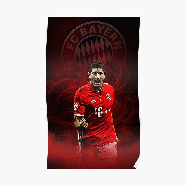 Lewandowski Hintergrund Poster