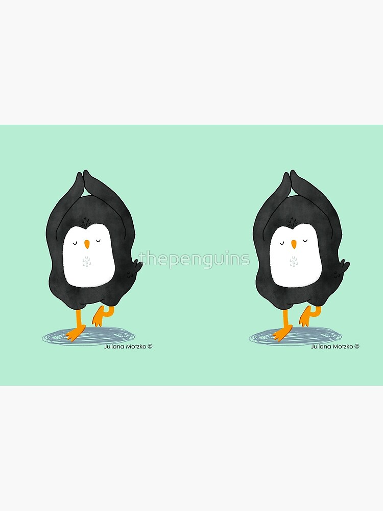 Yoga Penguin by thepenguins