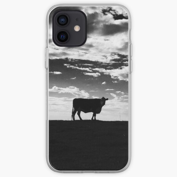 Beryl the Hereford cow iPhone Soft Case