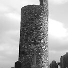 Round Tower at Old Kilcullen by Alfred Hellstern