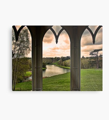 Lake view from Gothic Temple Metal Print