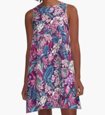 Stand Out! (ultraviolet 1) A-Line Dress