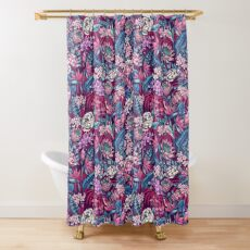 Stand Out! (ultraviolet 1) Shower Curtain