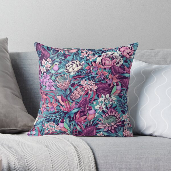 Stand Out! (ultraviolet 2) Throw Pillow