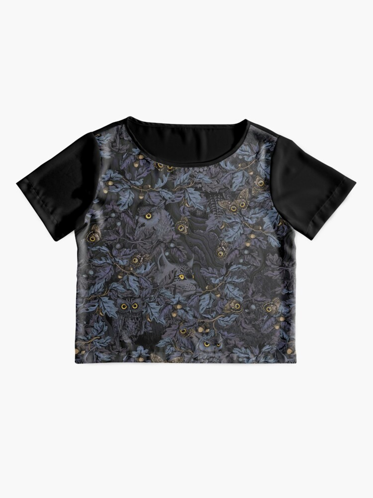 Alternate view of Fit In (moonlight blue) Chiffon Top