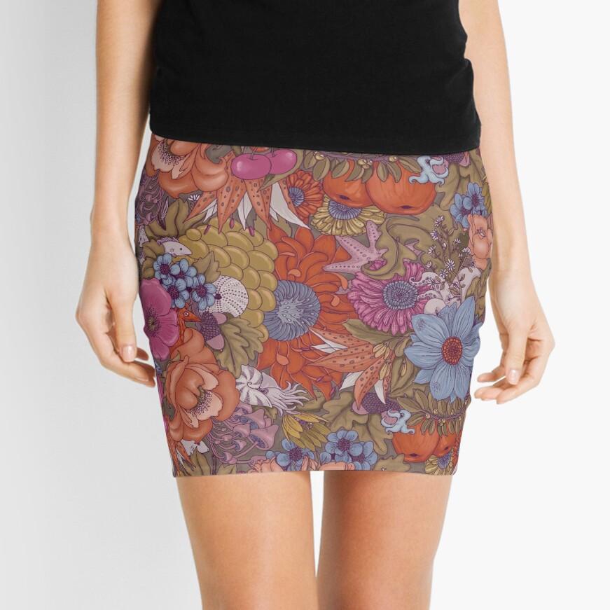 The Wild Side - Autumn Mini Skirt