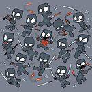 Ninja Mess by dooomcat