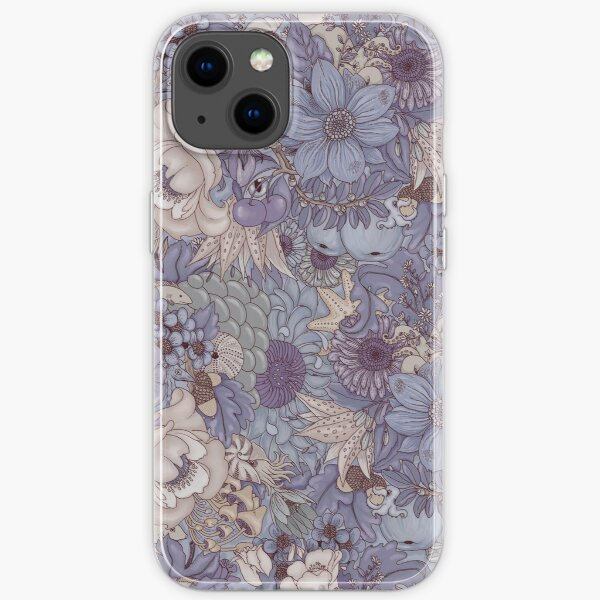 The Wild Side - Lavender Ice iPhone Soft Case