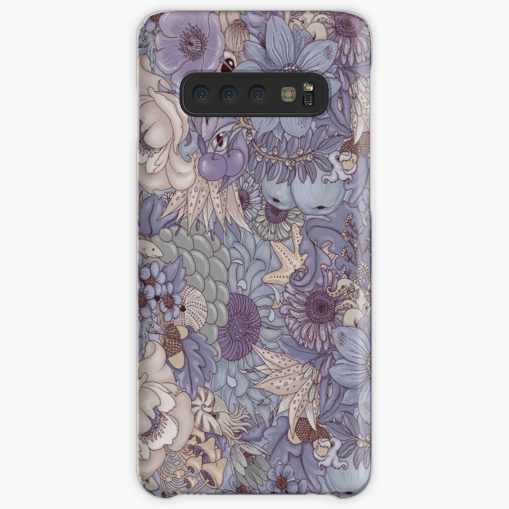 The Wild Side - Lavender Ice Case & Skin for Samsung Galaxy