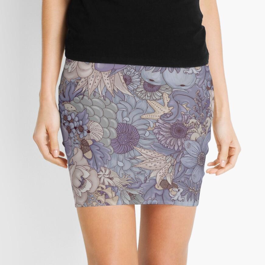The Wild Side - Lavender Ice Mini Skirt
