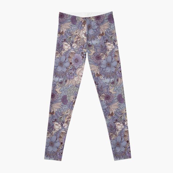 The Wild Side - Lavender Ice Leggings
