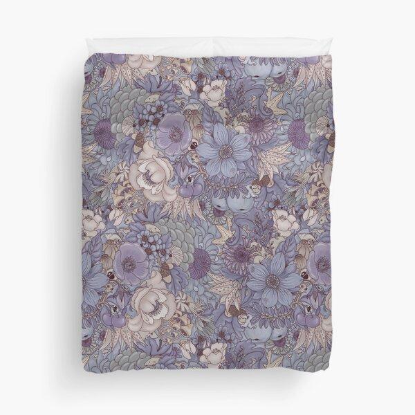 The Wild Side - Lavender Ice Duvet Cover