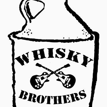 Josh Allen and the Whisky Bros Logo by muddyrecords