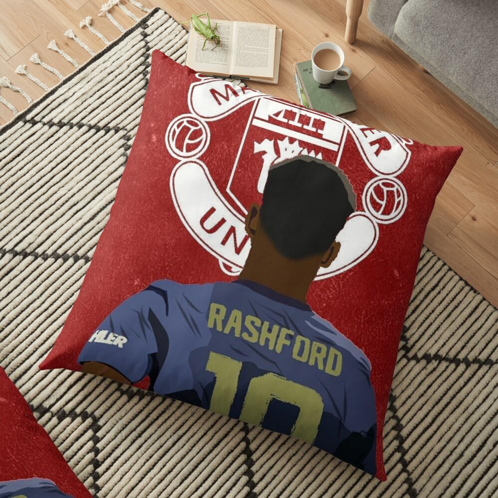 Rashford Watercolor Floor Pillow