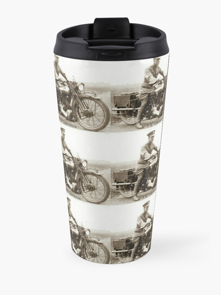 Alternate view of T.E.Lawrence (Lawrence of Arabia) Travel Mug