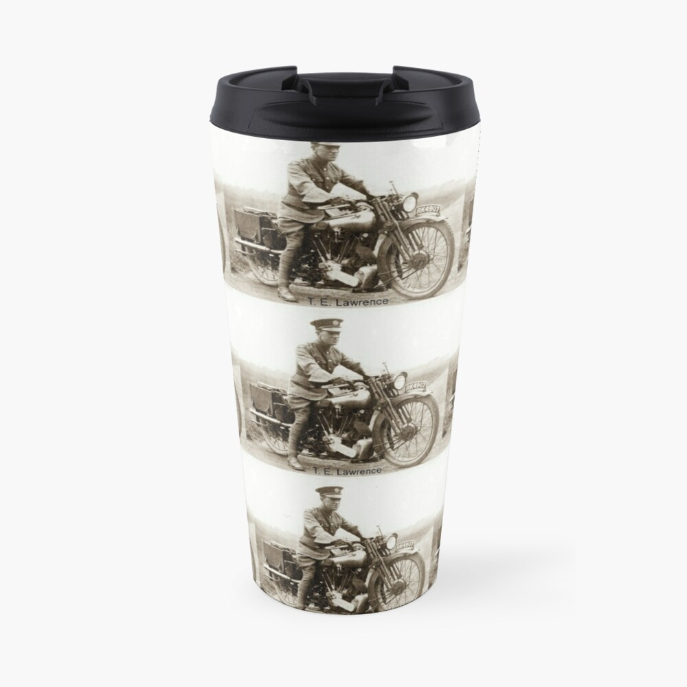 T.E.Lawrence (Lawrence of Arabia) Travel Mug
