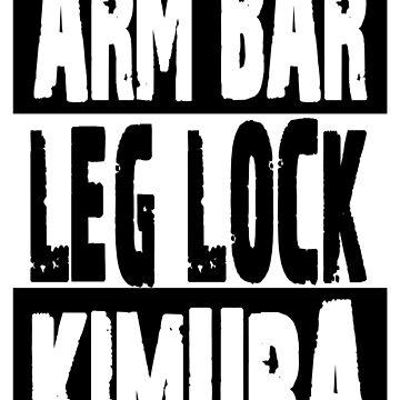 Jiu Jitsu - Arm Bar, Leg Lock, Kimura by FightZone